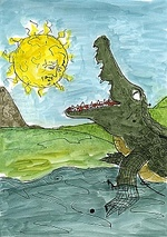 Visual Aids - The Crocodile Who Swallows The Sun