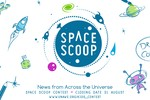 Space Scoop Competition Banner