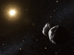 The First Immigrant Asteroid
